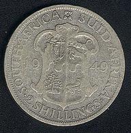 Südafrika, 2 Shillings 1949, Silber - South Africa