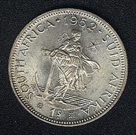 Südafrika, 1 Shilling 1952, Silber, UNC - South Africa