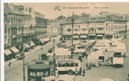 CPA - Belgique - Brussels - Bruxelles -  Etterbeek - Place Jourdan - Etterbeek