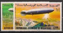 Mauritanie - 1976 - Poste Aérienne PA N°Yv. 170 à 171 - Zeppelins - Neuf Luxe ** / MNH / Postfrisch - Mauritania (1960-...)