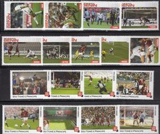 Sets FIFA Championat Tome 5.000-10.000Dbs+AFRICA 50-1000F ** 18€ Fußballspieler Stamps Voetball Soccers Of Football - Coupe Du Monde