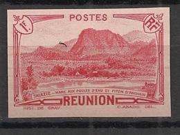 Réunion - 1933 - N°Yv. 140Aa - 1f Rouge - Variété - Non Dentelé / Imperf. - Neuf Luxe ** / MNH / Postfrisch - Réunion (1852-1975)