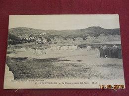 CPA - Pays-Basque - Fuenterrabia - La Playa Y Paseo Del Faro - Espagne