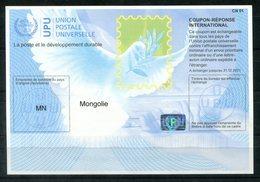 4083 - IRC IAS CRI - International Reply Coupon - Antwortschein T40 MONGOLEI MONGOLIA ** MN 20170802 AA - Mongolei