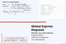 South Africa RSA 2001 Elandsfontein Meter PO3.1 Olivetti ATM EMA FRAMA Cover - Frankeervignetten (Frama)