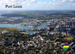 Mauritius Port Louis Aerial View New Postcard Maurice - Mauritius