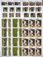 Championat FIFA 2004 Afrika 9 Werte Im Kleinbogen ** 180€ Fußball-WM Hoja Set Voetball Ss Soccer Sheetlets Football - Clubs Mythiques