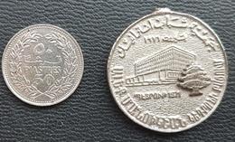 Lebanon Medal - Antranik Organization 40th Anniv - Tokens & Medals