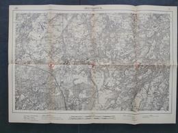 Topografische En Militaire Kaart STAFKAART 1914 WW1 WWI Arendonk Poppel Velhoven Casteren Hulsel Vessem Mierde Oerle - Cartes Topographiques