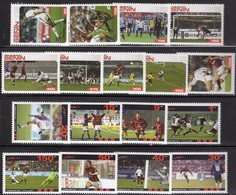 Stamps FIFA Championat AFGHAN 1-150 AFS+AFRIKA 50-1000F ** 22€ Fussballer Spieler Voetball Sets Soccers Of Football - Football