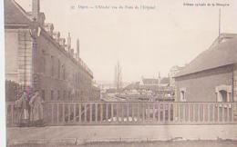 Dijon   470         L'Ouche Vue Du Pont De L'Hôpital - Dijon