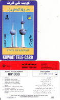 KUWAIT - Kuwait Tower, Sprint Prepaid Card KD 10(small CN At Left), Used - Kuwait
