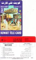 KUWAIT - Kuwait Market, Sprint Prepaid Card KD 5(large CN At Left), Used - Kuwait