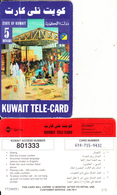 KUWAIT - Kuwait Market, Sprint Prepaid Card KD 5(very Small CN At Left), Used - Kuwait