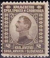 Royaume Des Serbes, Croates Et Slovènes YT 129 Année 1921 (MNH **) - Otros - Europa