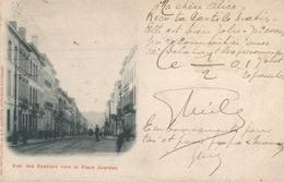 CPA - Belgique - Brussels - Bruxelles - Etterbeek - Rue Des Rentiers Vers La Place Jourdan - Etterbeek