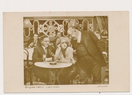BRIGITTE HELM Actress '' ALRAUNE '' - ROSS VERLAG , Actor, Vintage Old Photo Postcard - Acteurs