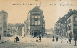 CPA - Belgique - Brussels - Bruxelles - Etterbeek - Rue De Theux Et De Haerne - Etterbeek