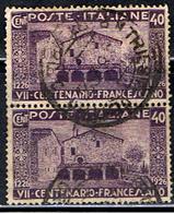 ITALIE 452 // YVERT 188 X 2 // 1926 - 1900-44 Victor Emmanuel III