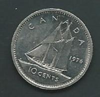 Canada 10 Cents 1976   Pia 212005 - Canada