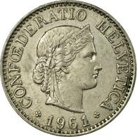 Monnaie, Suisse, 10 Rappen, 1961, Bern, TB+, Copper-nickel, KM:27 - Suisse