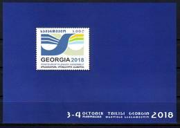 Georgie Georgia 2018 Posteurop Block MNH** - Géorgie