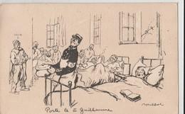 """POULBOT: Dans Un Hôpital: L'infirmier Chef """"Porte Le à Guillaume"""" N° 2 (Illustrateurs - Signés: Poulbot, F.) - Humoristiques"""