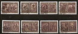 Vaticaan 1999 Yvertn° 1161-68 (°) Oblitéré Used  Année Sainte 2000 Cote 7,50 Euro - Vatican
