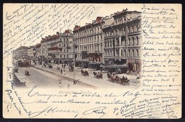 RUSSIA - RUSSIE -  SAINT PETERSBOURG --  PERSPECTIVE NEVSKY 1901 - Russie