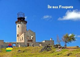 Mauritius Ile Aux Fouquets Lighthouse New Postcard Maurice - Fari