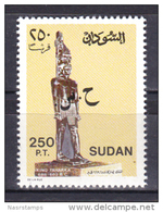 Sudan 1991 - 2003 ( King Taharqa Statue - Overprinted ) - MNH (**) - Sudan (1954-...)