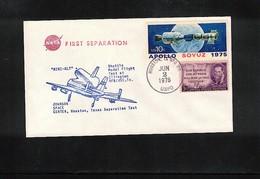USA 1976 Space / Raumfahrt Space Shuttle Interesting Cover - Stati Uniti