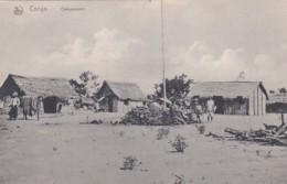 236846Congo, Campement. - Congo Belga - Otros