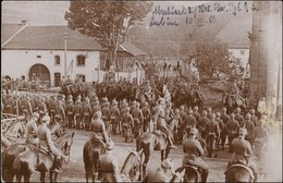 Lubine (Vogesen) Loubingen (Vosges) WK1 Soldaten Apell - Straße Abschied 1916 - Non Classés