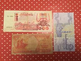 LOT DE 3 Billets Voir Le Scan - Munten & Bankbiljetten