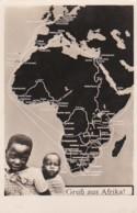 236897Gruss Aus Afrika ! (voir Coins) - Postales