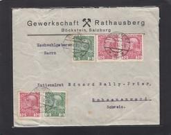 GEWERKSCHAFT RATHAUSBERG,BÖCKSTEIN,SALZBURG. - 1850-1918 Imperium