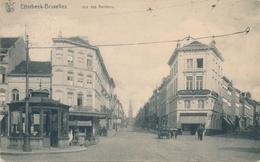 CPA - Belgique - Brussels - Bruxelles - Etterbeek - Rue Des Rentiers - Etterbeek