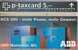 PTT P: KP-94/423 409L ABB Normelec AG - Schweiz