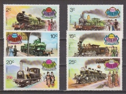 LIBERIA 1973 Historical Railways 1895-1905. NUEVO - MNH ** - Trains