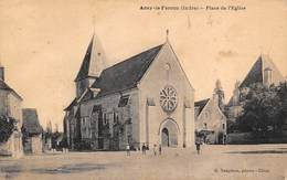 Azay Le Ferron          36      Place De L'Eglise      (voir Scan) - France