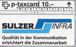 PTT P: KP-94/370A 407L Sulzer Infra Chur - Schweiz