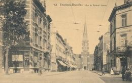 CPA - Belgique - Brussels - Bruxelles - Etterbeek - Rue Général Leman - Etterbeek