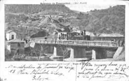 Souvenir De Zongouldak - Société Ottomane DHéraclée - Pont D'Adjllik (mine, Top Animation, Train 1903.. Léger Plis Coin) - Turquie
