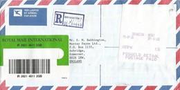 South Africa RSA 1995 Bryanston Meter Anker Data ATM EMA FRAMA Registered Cover - Frankeervignetten (Frama)