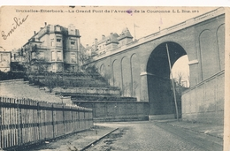 CPA - Belgique - Brussels - Bruxelles - Etterbeek - Le Grand Pont De L'avenue De La Couronne - Etterbeek