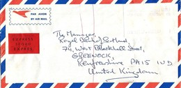 South Africa RSA 1988 Millstreet Meter Anker ATM EMA FRAMA Express Cover - Frankeervignetten (Frama)