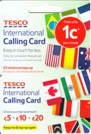 IRELAND - Flags, Tesco International Magnetic Calling Card, Mint - Ireland