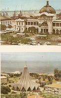 Mozambique ** & Postal, Church Of Polana And Train Station Of Maputo, (5751) - Mozambique
