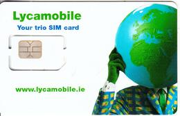 IRELAND - Lycamobile GSM(multi Sim), Chip 5, Mint - Ireland